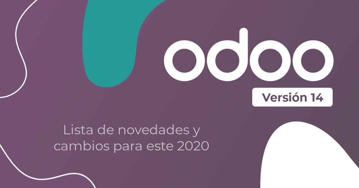 lo nuevo de Odoo 14